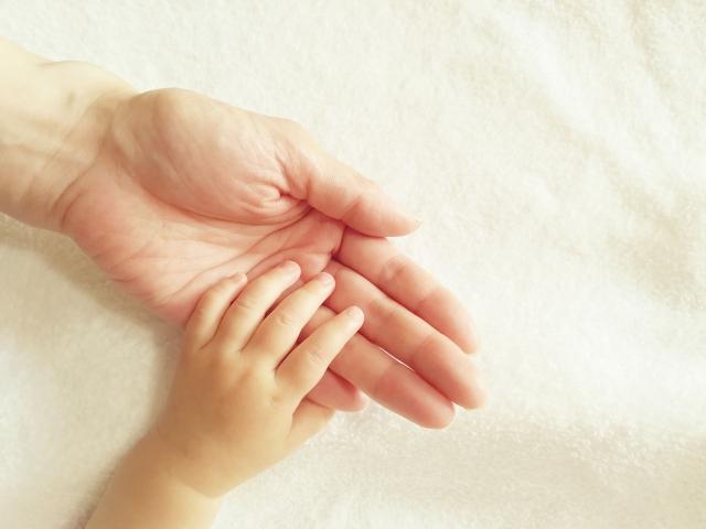 ピロリ菌の感染を気にする母子