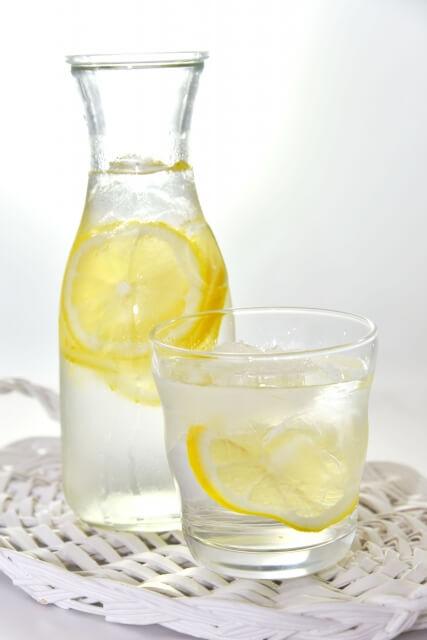 レモン水 作り方