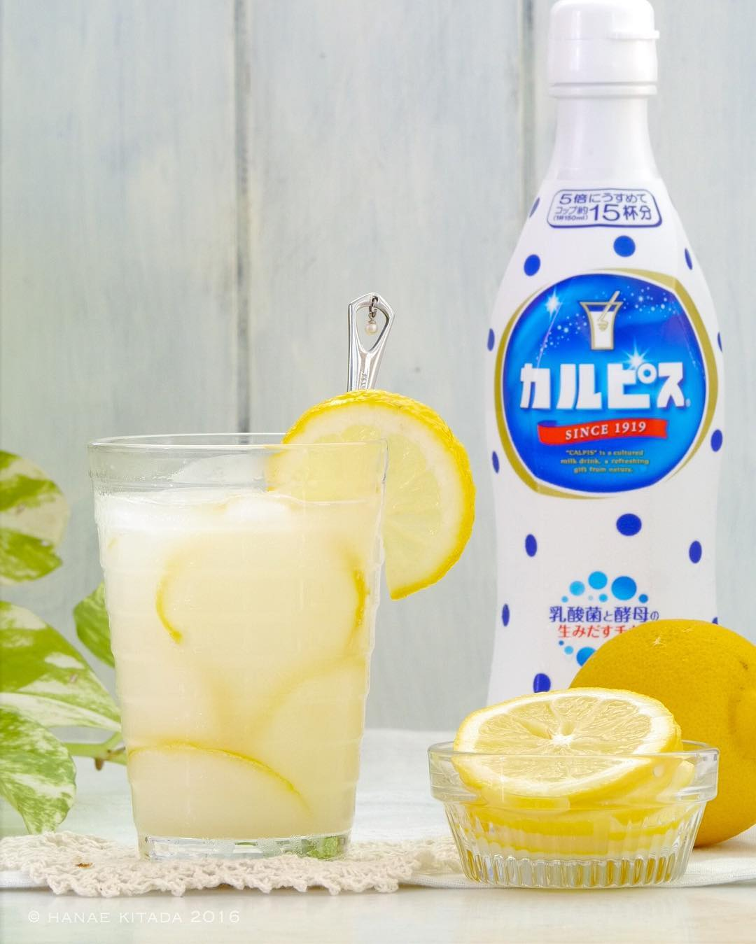 ホットカルピスのレモン味の作り方?簡単レシピを紹介