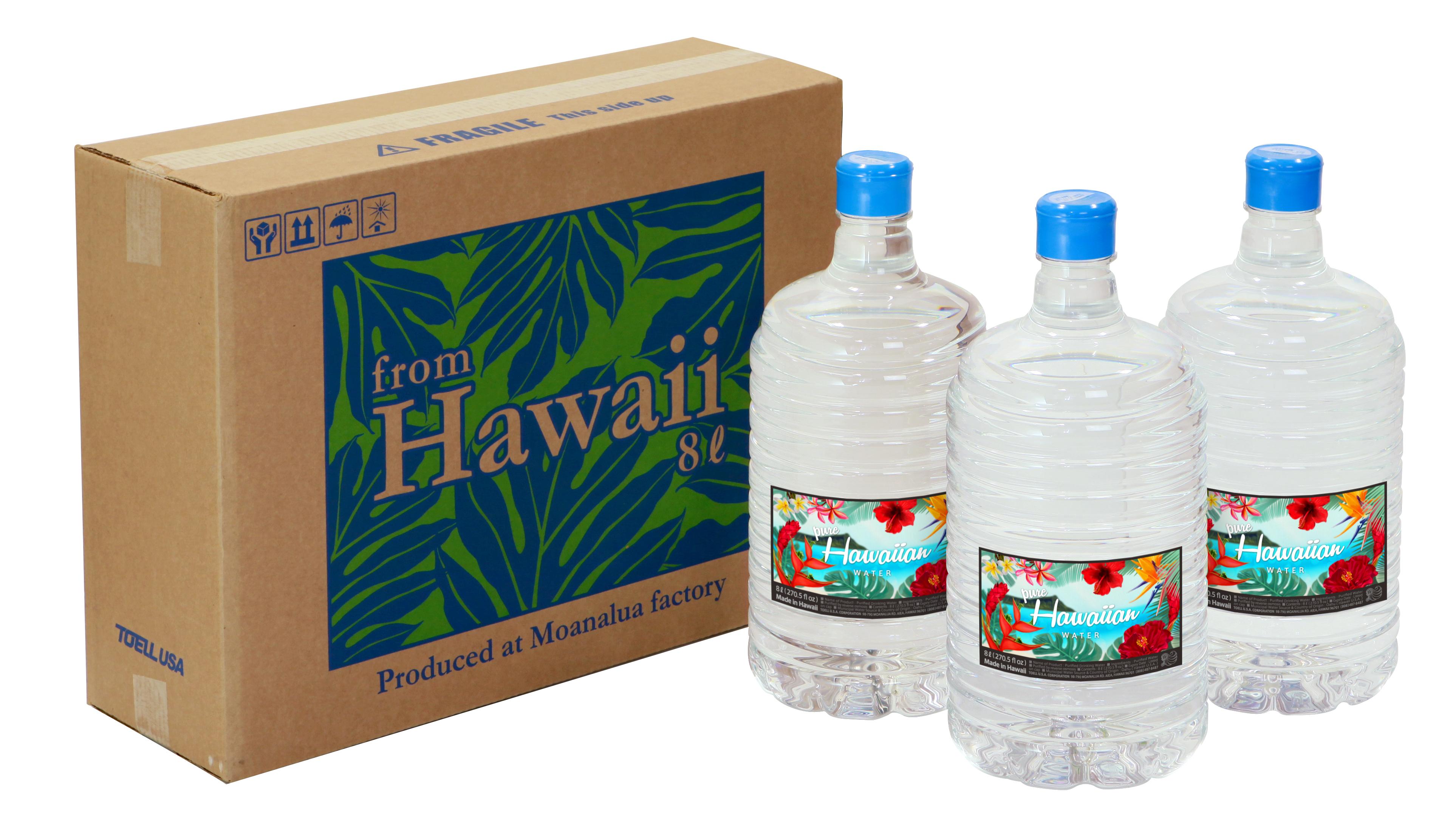 ハワイアンウォーターのボトルがへこむ訳とは?メリット・デメリットをご紹介